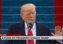 RedeTV! derruba programação e é a única a mostrar íntegra do discurso de posse de Trump