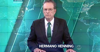 Primeira-mão: SBT não deve renovar contrato com o jornalista Hermano Henning