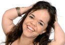 Juliana Caldas é confundida com esposa de ator da Record