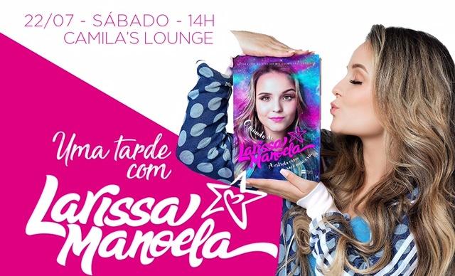 fde37b4ebc05d Larissa Manoela lança novo livro nos Estados Unidos - Bastidores da TV