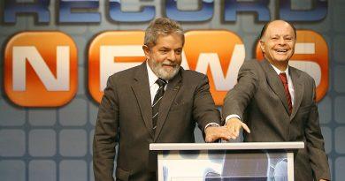Record convida Lula para protagonizar o reality A CASA CAIU