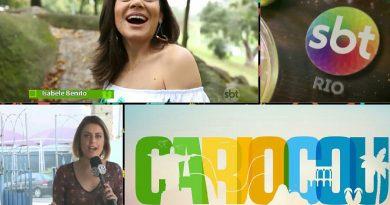 """""""Cariocou"""" – SBT Rio estreia novo programa com Isabele Benito e eleva audiência aos sábados"""