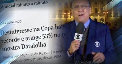 Brasileiro sem interesse na Copa? Audiência histórica da Globo contraria pesquisa e torcida anti-seleção brasileira