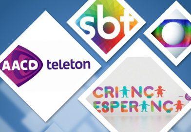 """Em 21 anos de """"Teleton"""", SBT e AACD chegam a R$ 425 milhões em doações – Número ultrapassa valor arrecadado em 33 anos de """"Criança Esperança"""""""