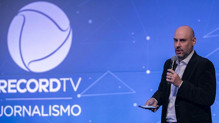 Após 17 anos, Douglas Tavolaro deixa a Record e assina com a CNN