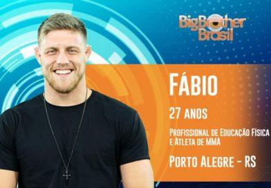 """Campeão mundial de jiu-jítsu, Fábio Alano é desclassificado do """"BBB 19"""""""