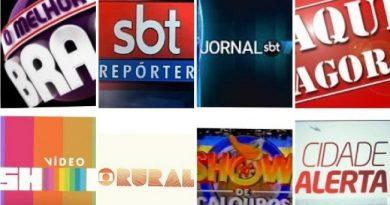 """Muito além do """"Vídeo Show"""" – Programas mais tradicionais da TV brasileira perdem espaço em todas as emissoras"""