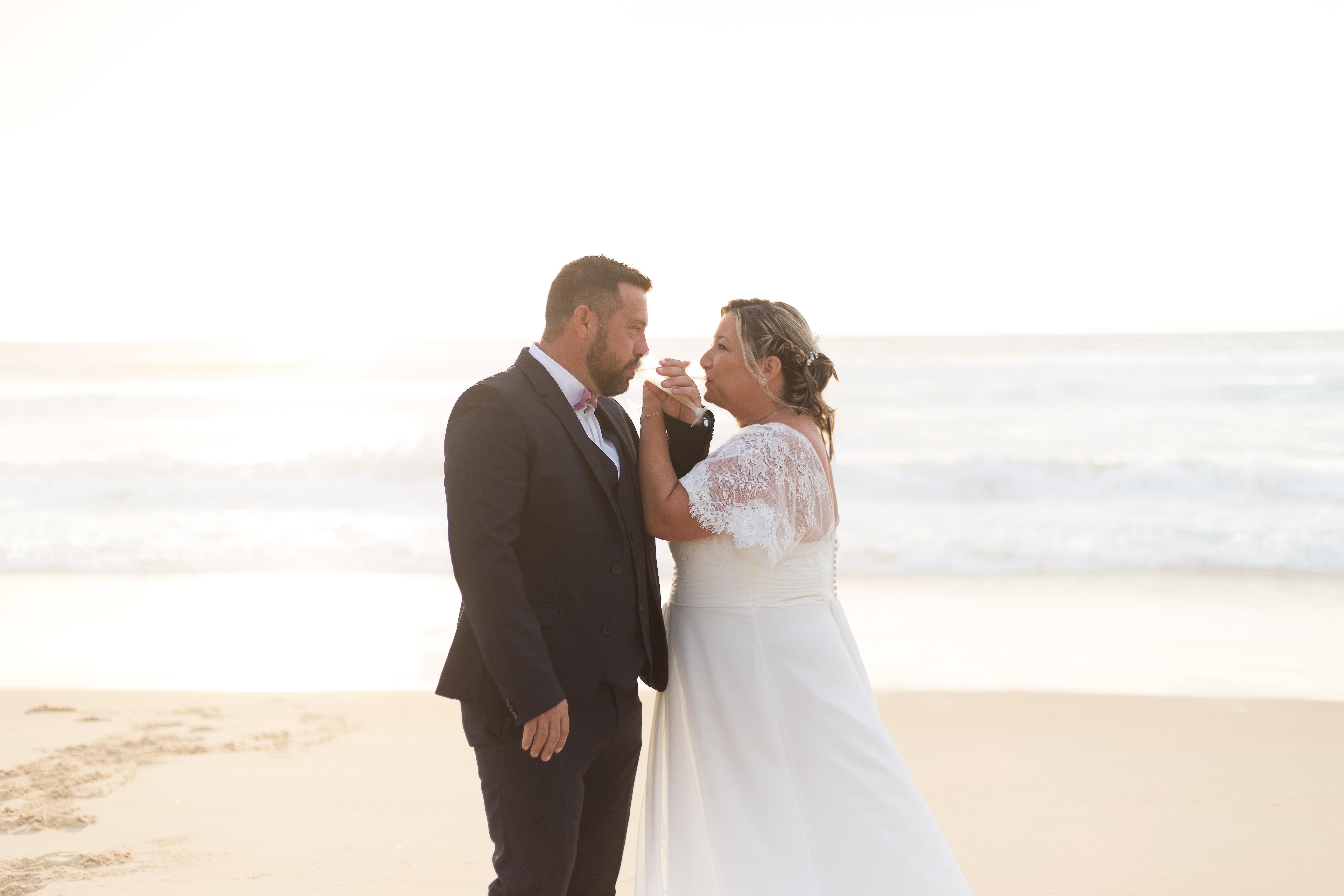 célébration mariage photo plage