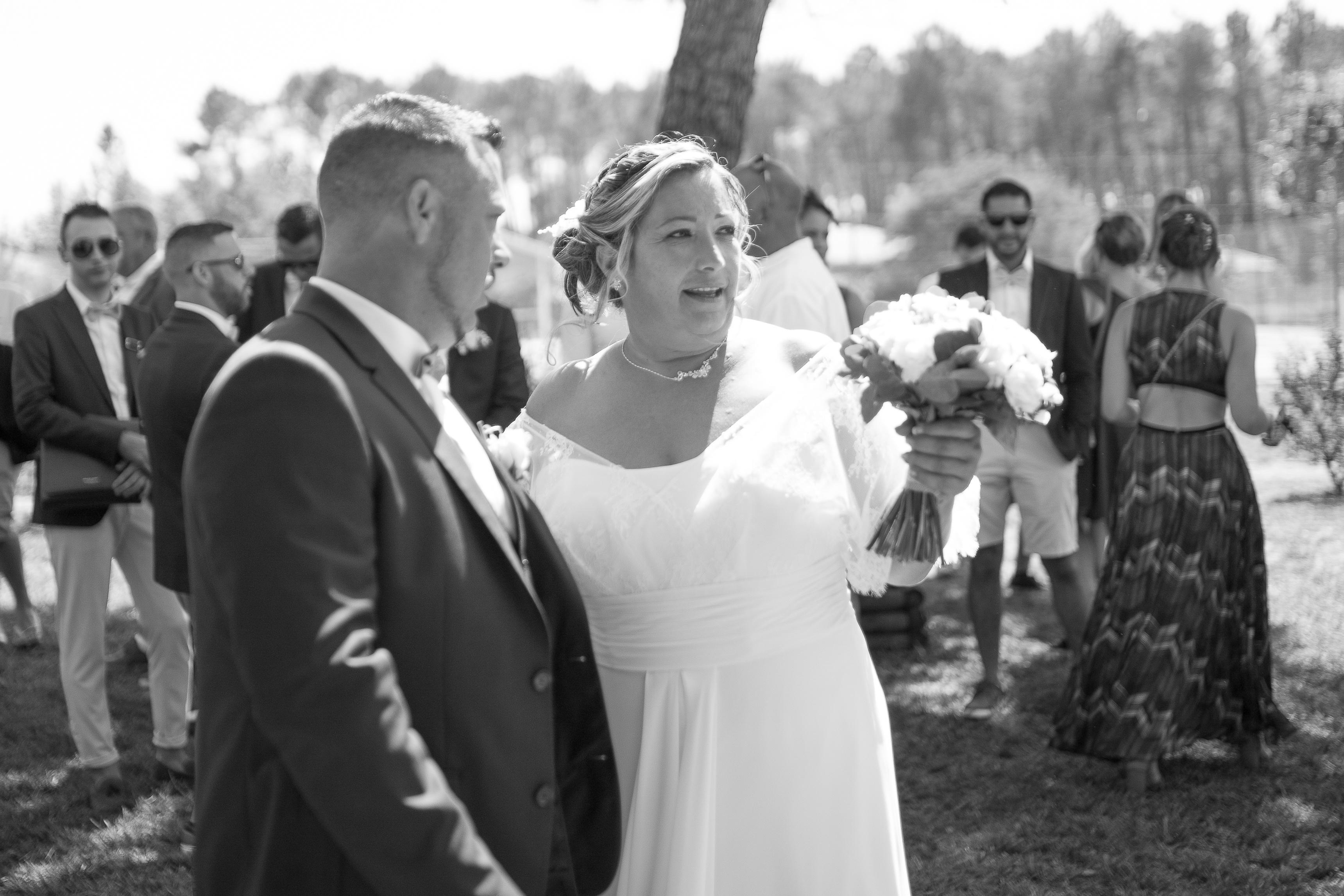 cérémonie mariage landes