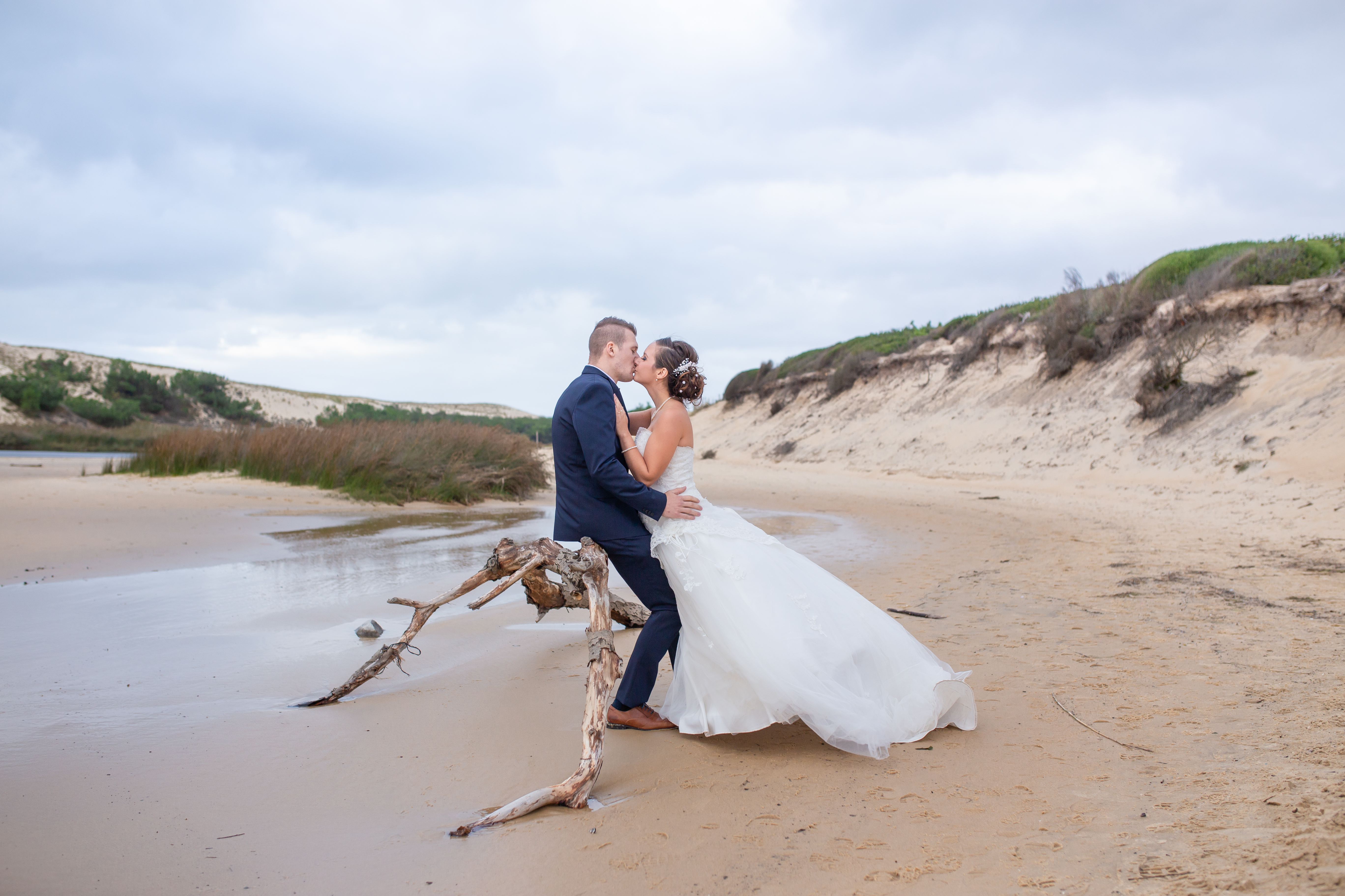 shooting after day mariage landes