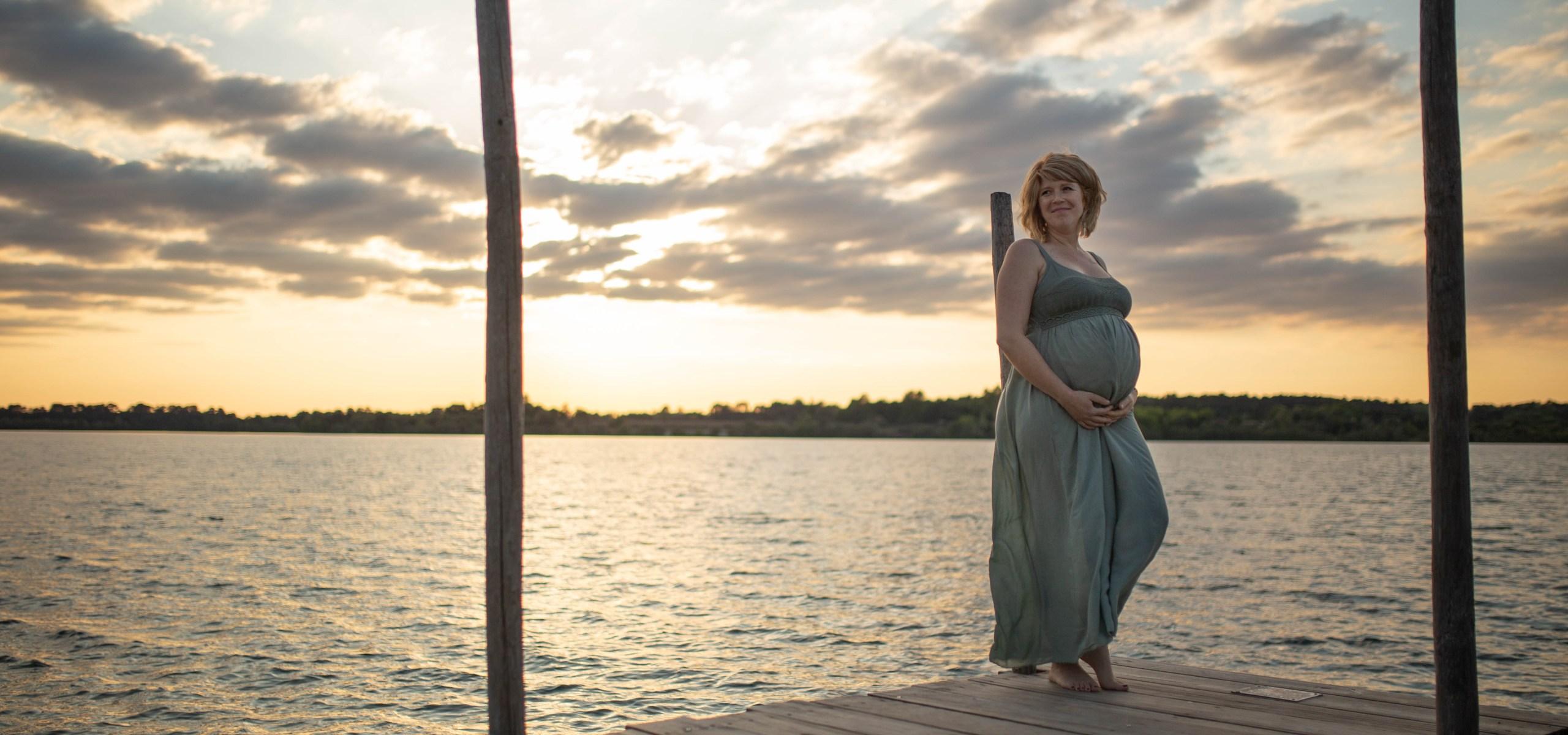 Photos de grossesse dans les Landes