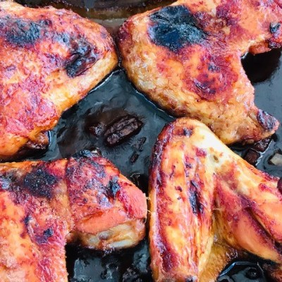 Delicious and Easy Sticky Chicken Wings