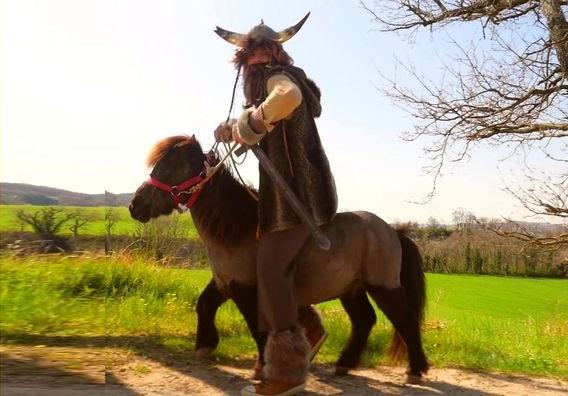 Les pérégrinations d'un barbare rom'antique