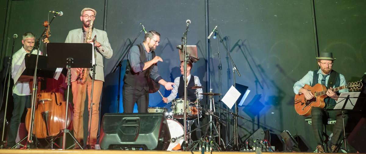 Lygah à Aouste pour les Jazz au village