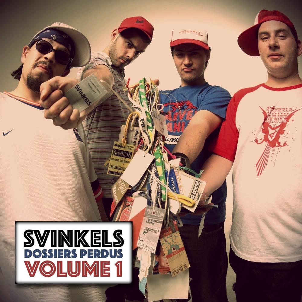 Un nouvel EP pour les Svinkels:  Les Dossiers perdus Volume 1