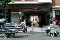 Recicladores en Bilbao