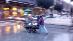 Recicladore Bilbao Lluvia
