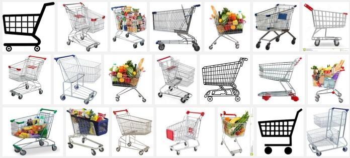 Shopping cart en Google images