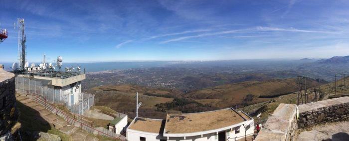 Vistas desde la cima. Zona Francia.