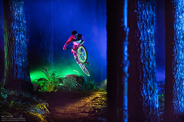 Matt Hunter in Black Rock, Oregon. Philips/Sweetgrass mountain bike 2015.