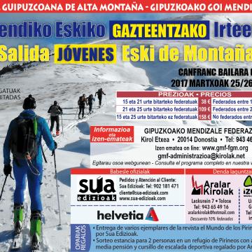 Esqui de montaña Jovenes