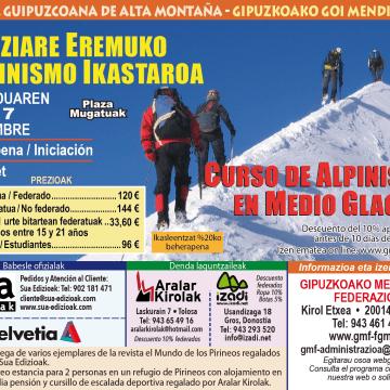 alpinismo glaciar 2017