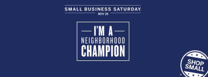 BASYS - American Express Small Business Saturday - November 26, 2016