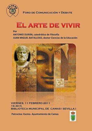 2011 CARTEL ARTE DE VIVIR