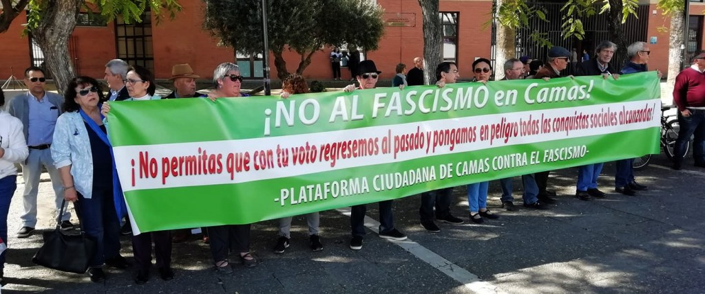Plataforma contra el fascismo de Camas
