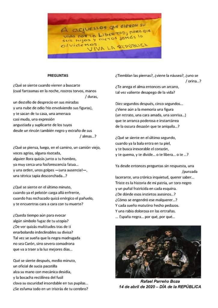 Poema a La Columna Minera de Riotinto