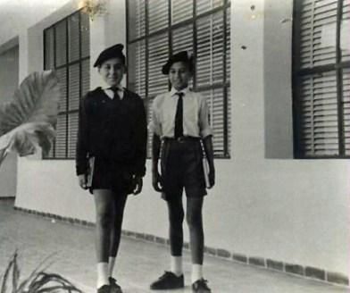 Uniformes instituto laboral años 60