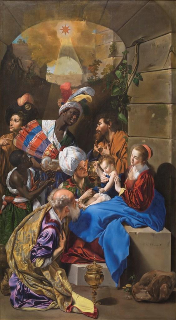 Adoración de los Reyes Magos de Maíno
