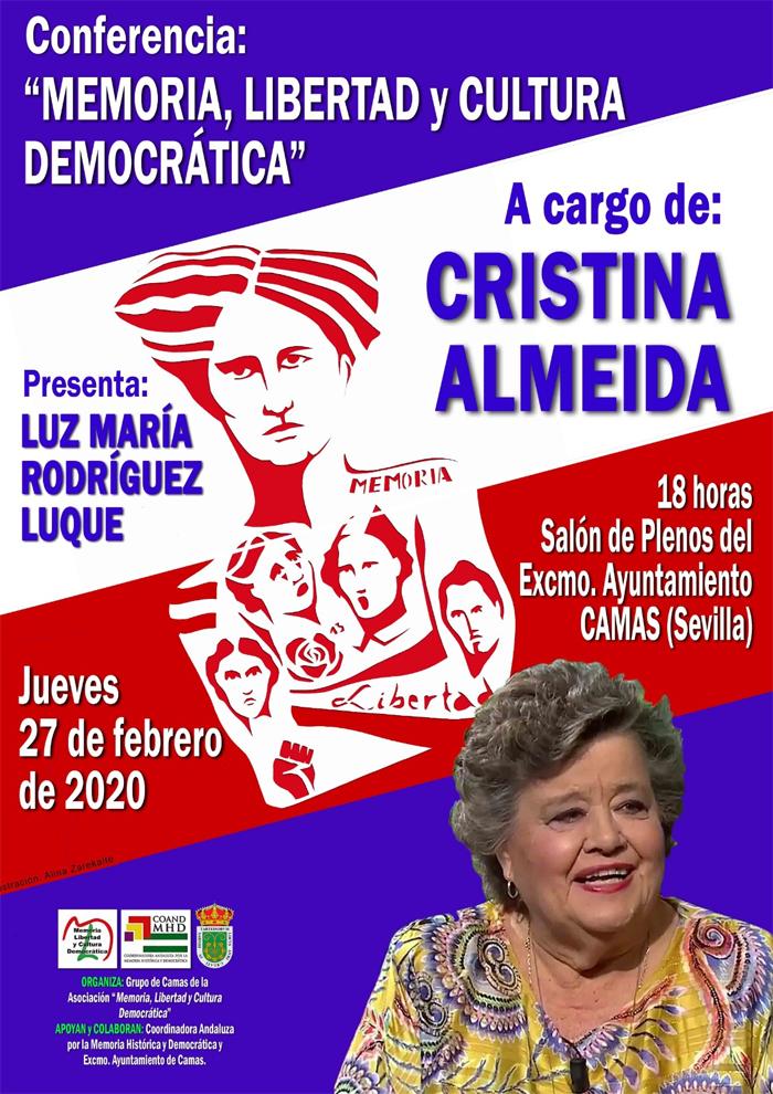 Conferencia Cristina Almeida/Luz Mª Rodríguez. 27.02.2020