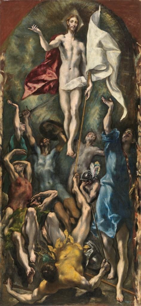 Resurrección de Cristo. El Greco.