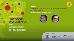 Conferencia I Forum I, Pdg. Ecosistémica