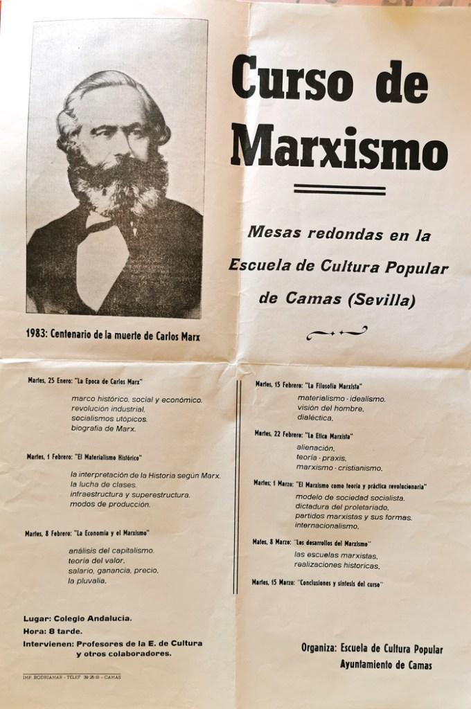Curso de Marxismo. Escuela de Cultura Popular.