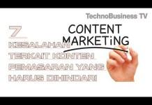 7 Kesalahan Terkait Konten Pemasaran yang Harus Dihindari