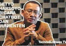 Setyo Harsoyo Bicara Tentang Chatbot dan Jumienten