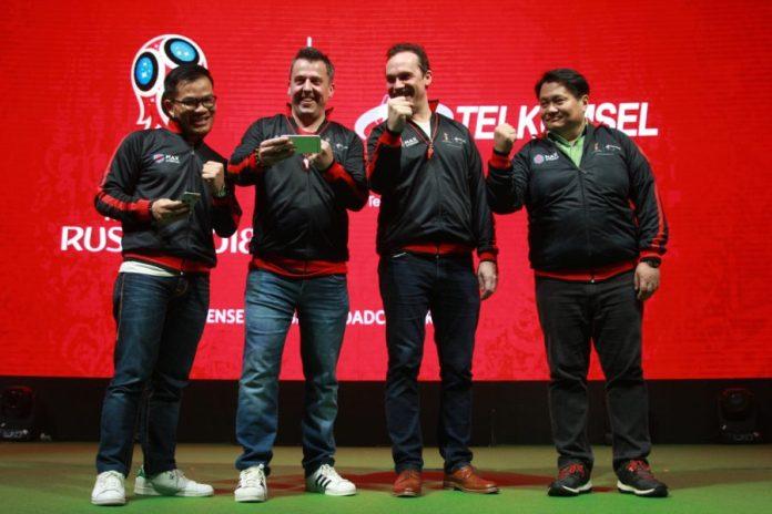 Piala Dunia 2018 Jadi Ujian bagi Telkomsel