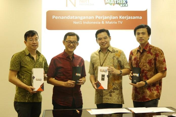 Berkolaborasi, Strategi Net1 dan Matrix TV Perluas Pasar