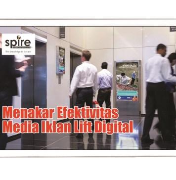 Efektivitas Iklan Menggunakan Media Lift