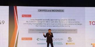CCO Tokocrypto Tampil di Ethereum SuperMeetup 2019