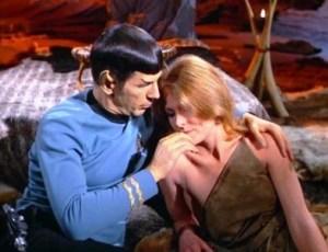 Spock e Zarabeth, um caso de amor