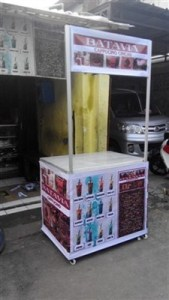 Booth Portable + banner