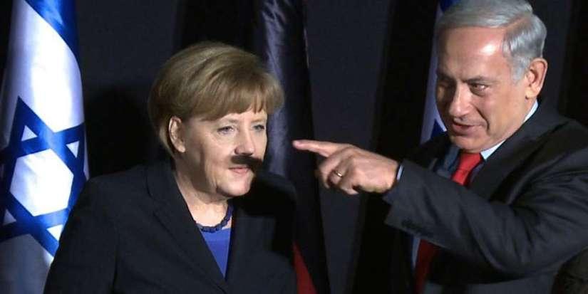 Merkel's verraad aan de vrijheid van meningsuiting.