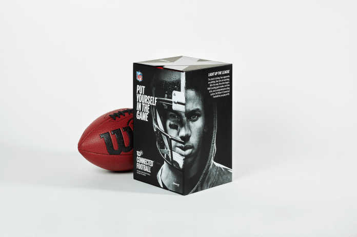 Wilson X Football packaging