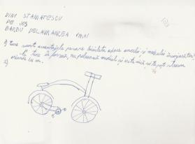 Desen bicicleta Scoala BateSaua