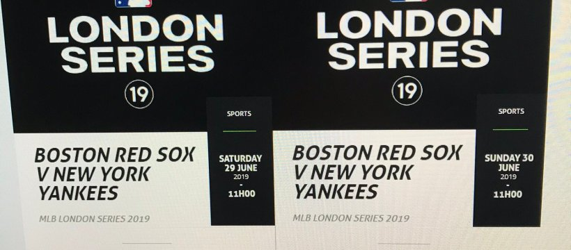 First Pitch times for the London Series 2019 leaked? – Bat Flips and