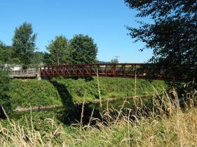 Pedestrian Bridge over river