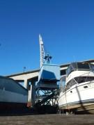 Boat Crane and West Seattle Bridge